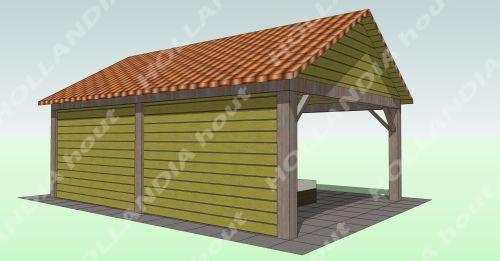 Tuinhuis tuinhuis met dakpannen : Maatwerk overkappingen - tuinhuis ...